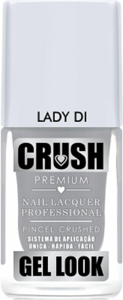 Esmalte Crush Efeito Gel Look Lady Di