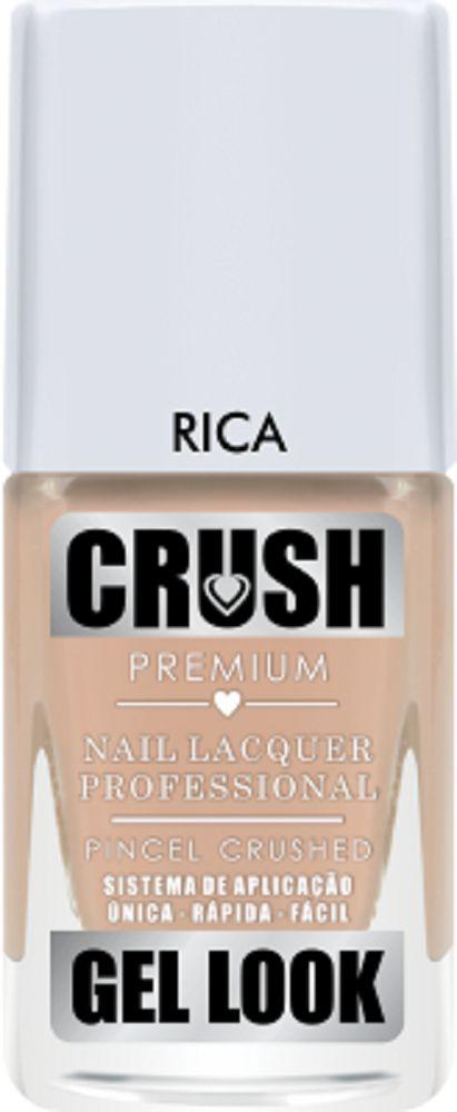 Esmalte Crush Efeito Gel Look Rica