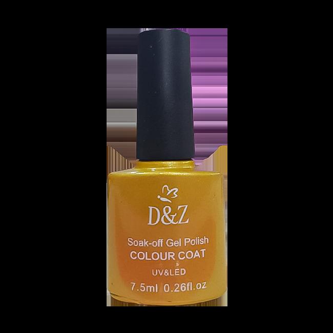 Esmalte em Gel D&Z Colour Coat Uv/led Soak-Off Gel Polish 7,5ml