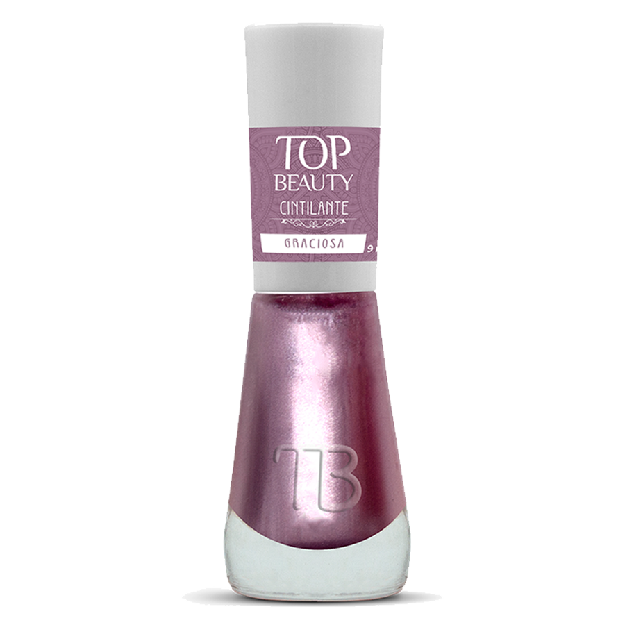 Esmalte Premium Cintilante Top Beauty 9ml Graciosa