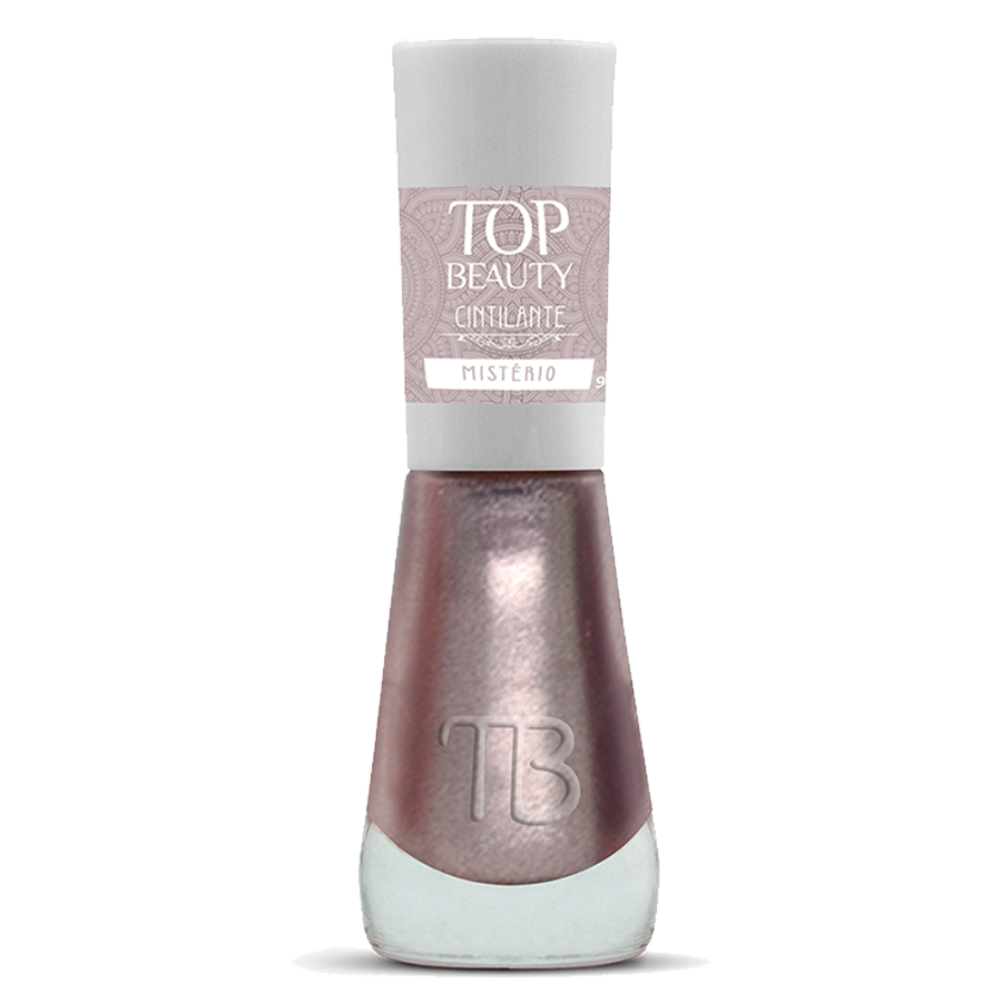 Esmalte Premium Cintilante Top Beauty 9ml Mistério