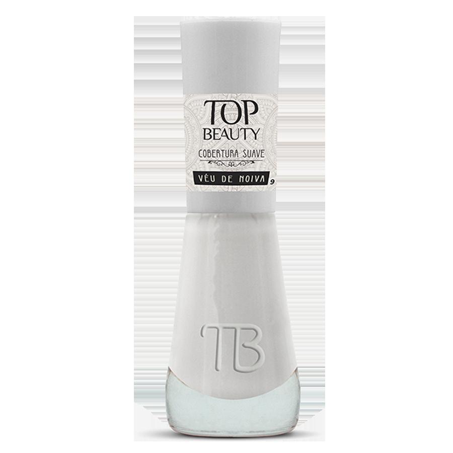 Esmalte Premium Cobertura Suave Top Beauty 9ml Véu de Noiva