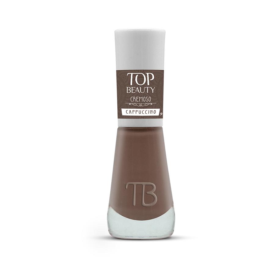 Esmalte Premium Cremoso Top Beauty 9ml Cappuccino