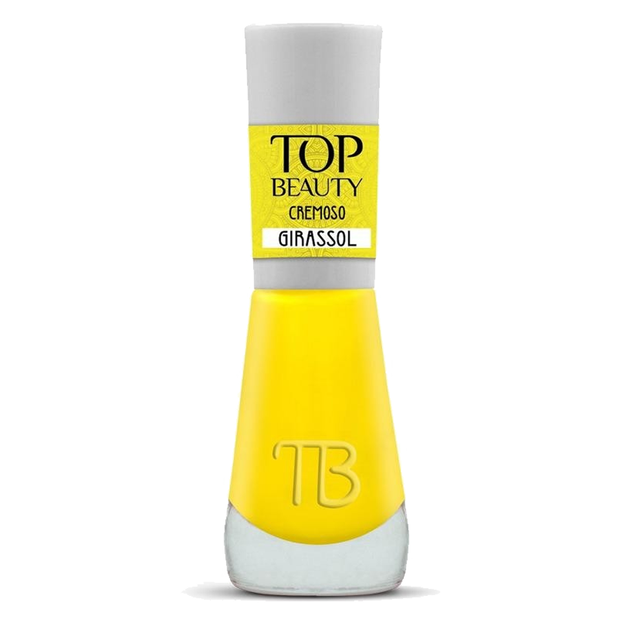 Esmalte Premium Cremoso Top Beauty 9ml Girassol