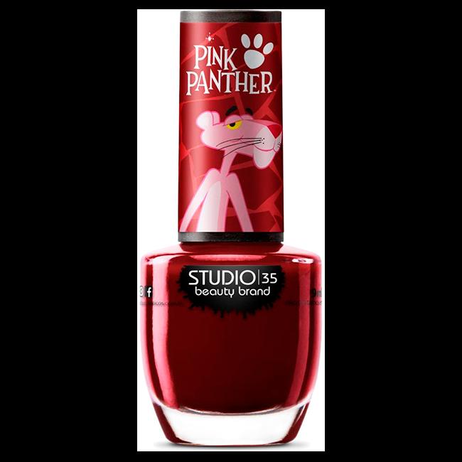 Esmalte Studio 35 Pantera Atrevida Coleção Pink Panther 9 ml