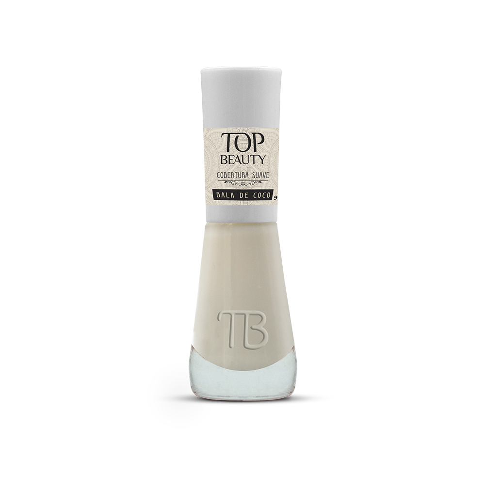 Esmalte Top Beauty Bala de Coco
