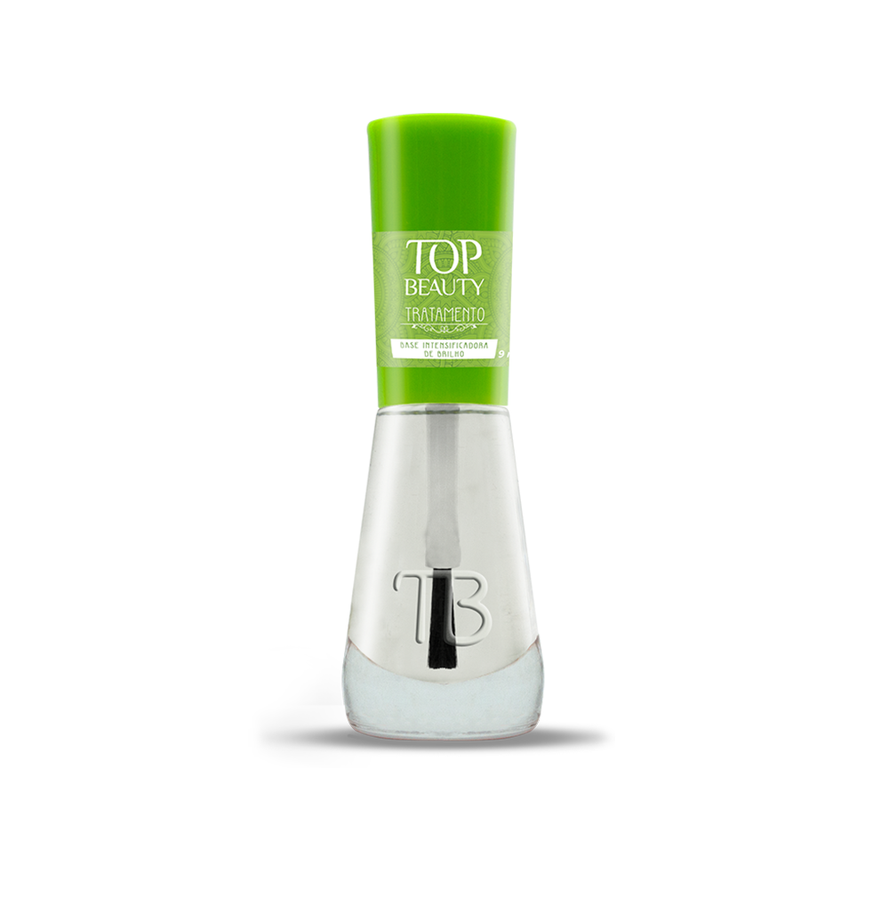 Esmalte Top Beauty Base Intensificadora de Brilho
