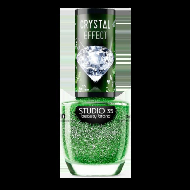 Esmalte Vegano Studio 35 Aurora Boreal Coleção Crystal Effect III 9ml