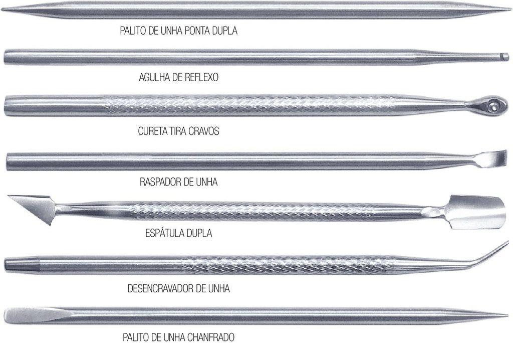Espátula Dupla Aço Inox Kadoshi Kit com 7 Unidades