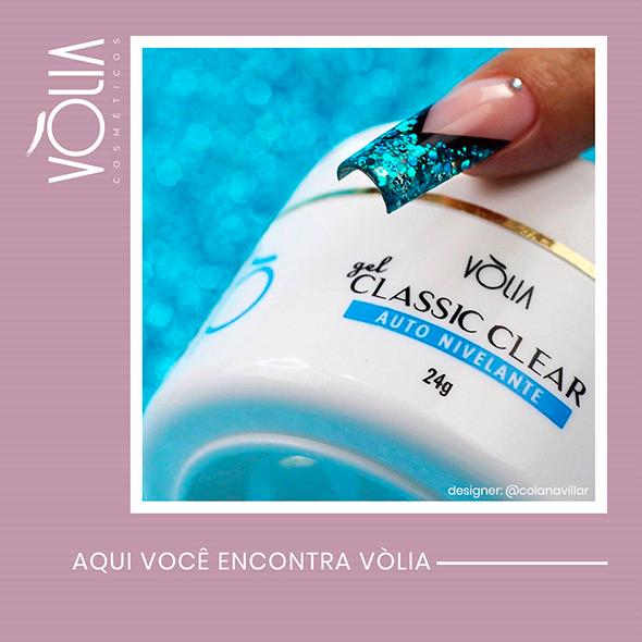 Gel Volia Classic Clear 24gr - Original
