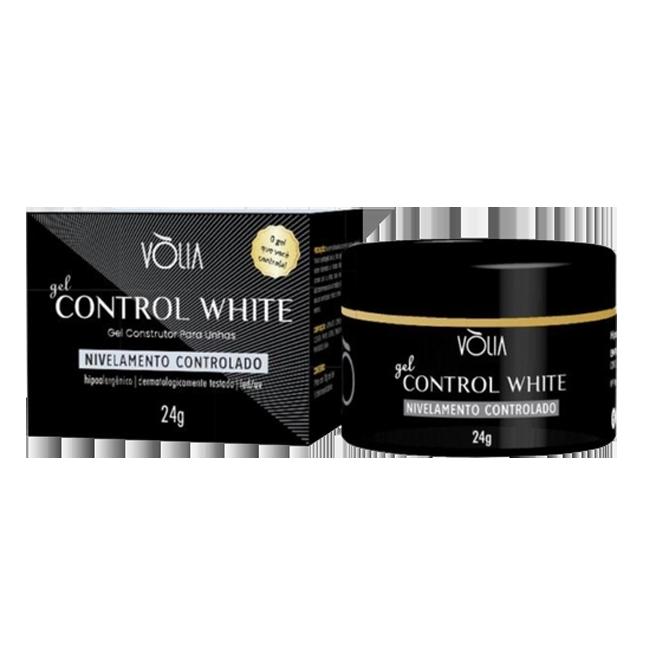 Gel Control White Vòlia Gel Construtor para Unhas 24g