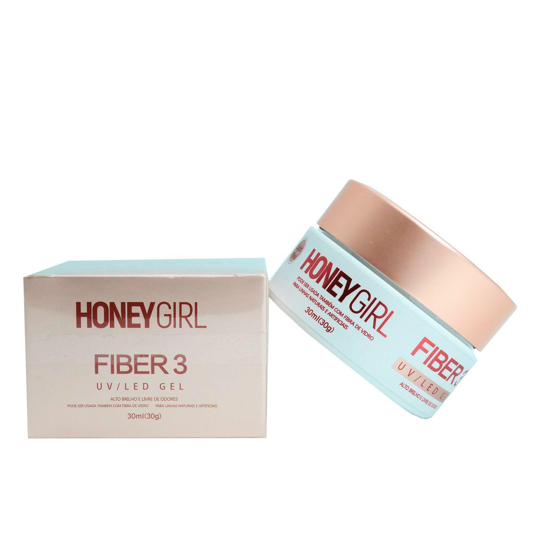 Gel Fiber 3 Honey Girl Light Pink