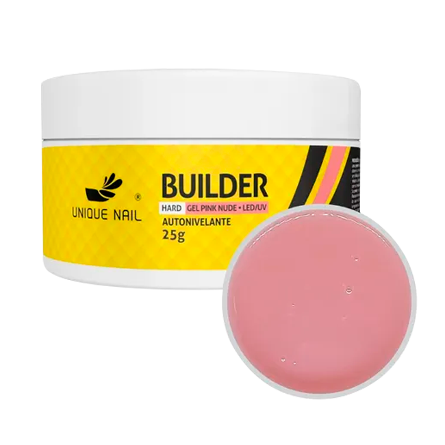 Gel Hard Builder Pink Nude Unique Nail 25g
