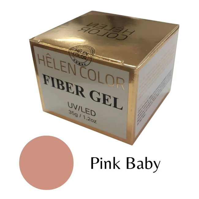 Gel Para Alongamento De Unhas Helen Color Pink Baby 35g