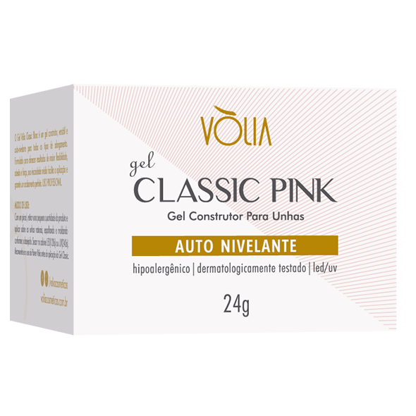 Gel Volia Classic Pink 24g - Original
