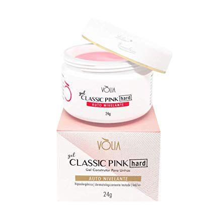 Gel Volia Classic Pink Hard 24g
