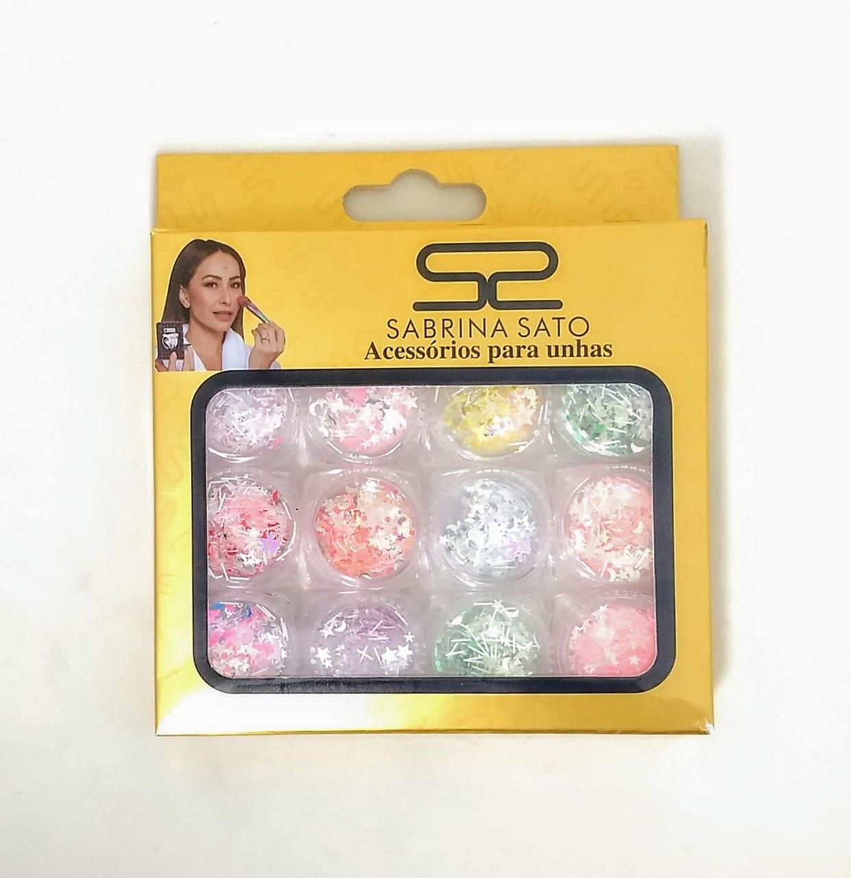 Glitter para encapsulamento de unhas Sabrina Satto