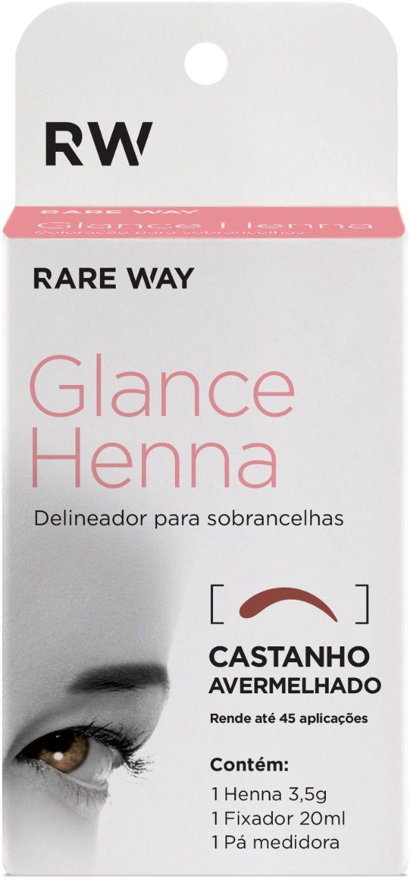 Henna Glance Castanho Avermelhado
