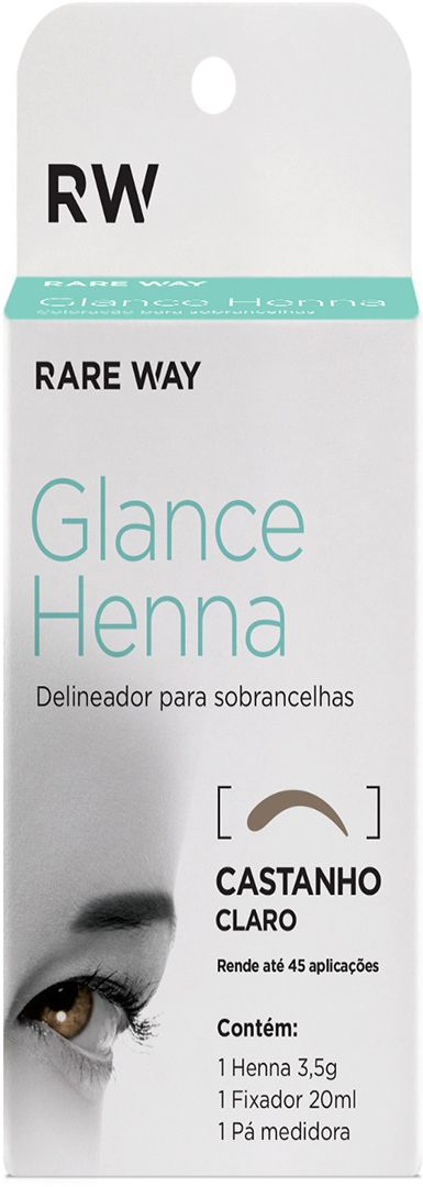 Henna Glance Castanho Claro