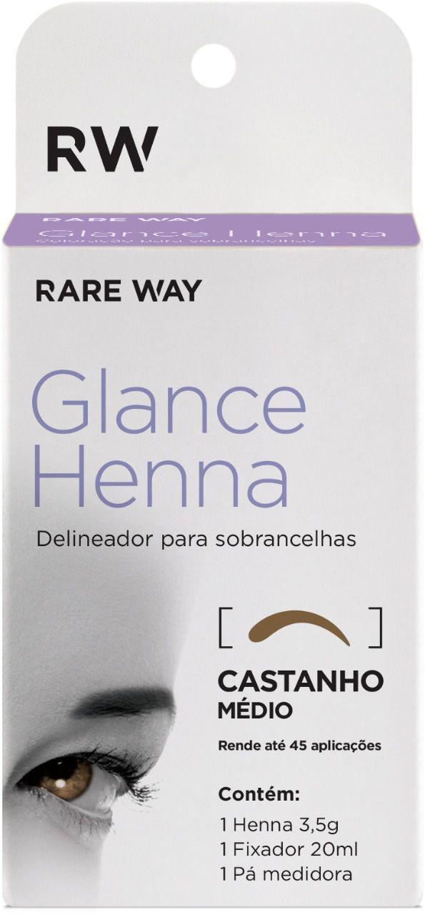Henna Glance Castanho Médio