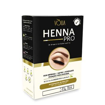 Henna Volia Castanho Medio