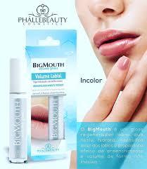 kit com 2 Gloss Big Mouth Volume Labial Transparente