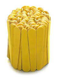 Lixa 8 cm canario com 144 unidades Lady