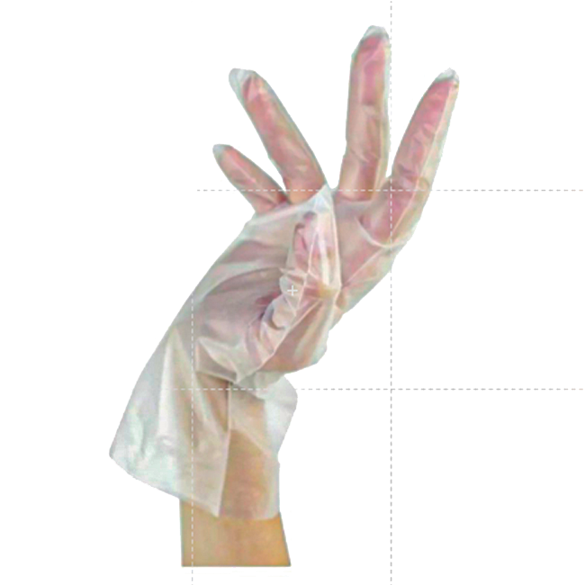 Luva Viniflex Tamanho P  Vabene 100 Unidades