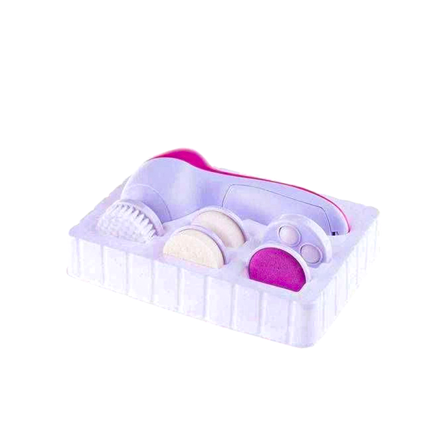 Massageador Facial E Corporal Limpeza De Pele 5 Em 1