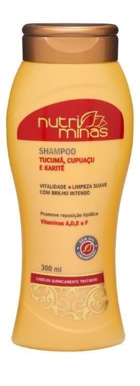 Nutri Minas Shampoo Tucumã 300ml
