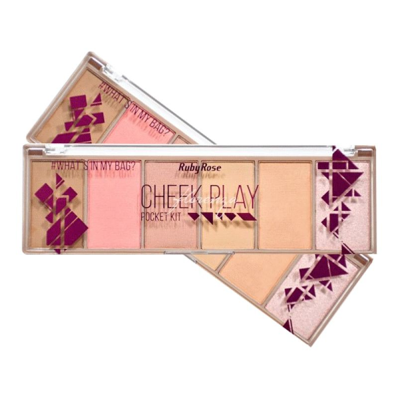 Paleta Cheek Play Pocket Ruby Rose