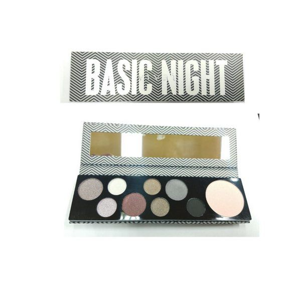 Paleta De Cores Basic Night