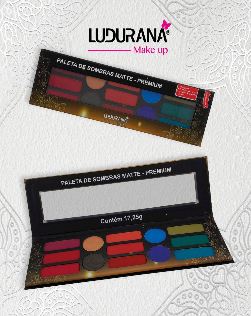 Paleta de sombra premium Ludurana