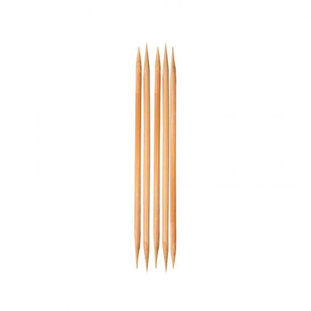 Palito de unha de bambu com 50 unidades com duas pontas