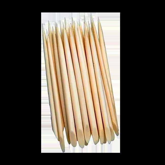 Palito para Unha 13cm Higibrás Madeira 100 Unidades