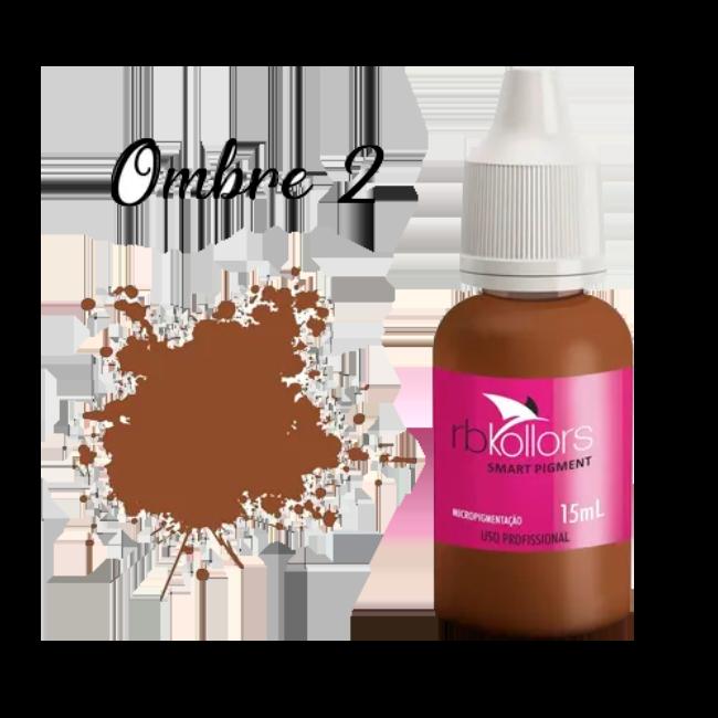 Pigmento Rb Kollors 15ml Ombre 2 - 15 ml