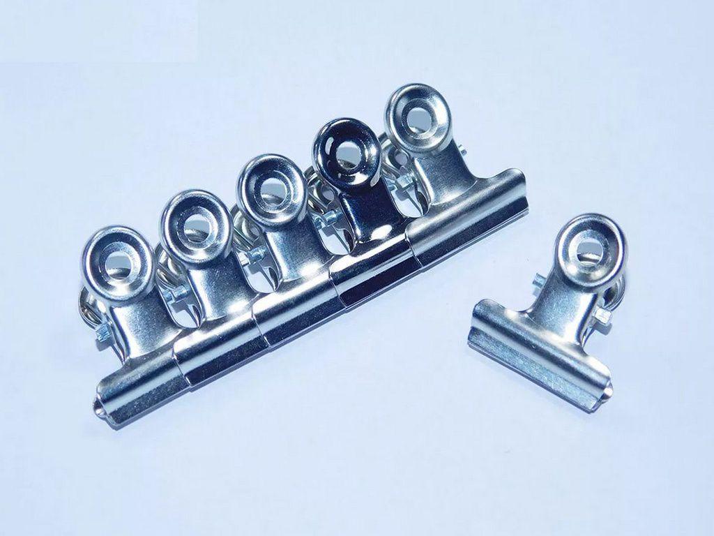 Presilhas Para Curvatura C Alongamento De Unhas Pequena Metal