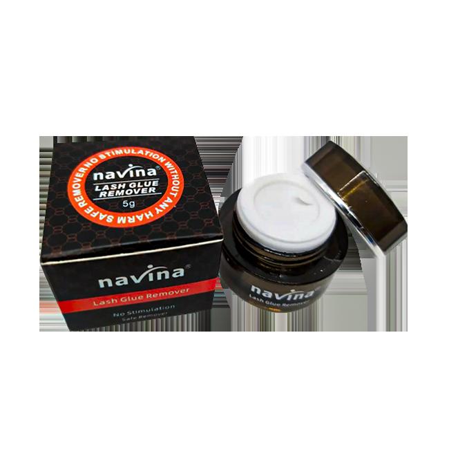 Removedor De Cola de Cílios Navina Em Gel Original 5g