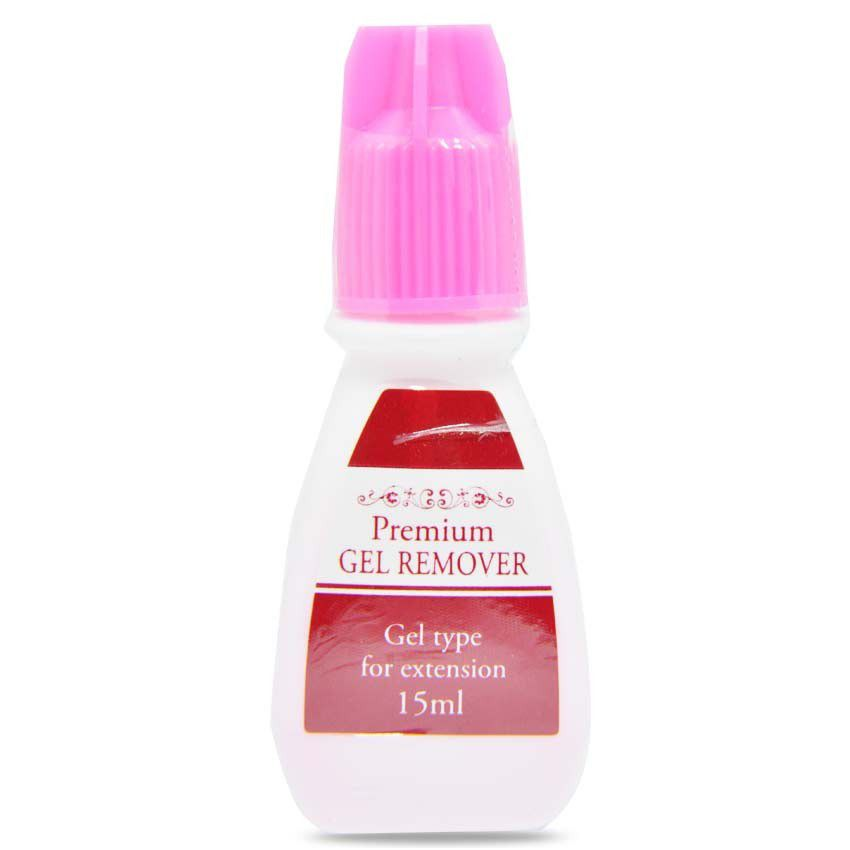 Removedor Gel Premium Black Alogamento De Cilios 15 ml