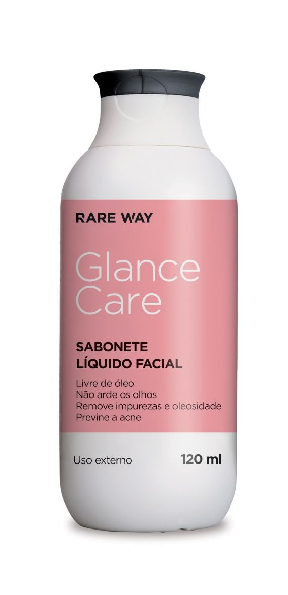 Sabonete Liquido Facial GLANCE CARE 120ml