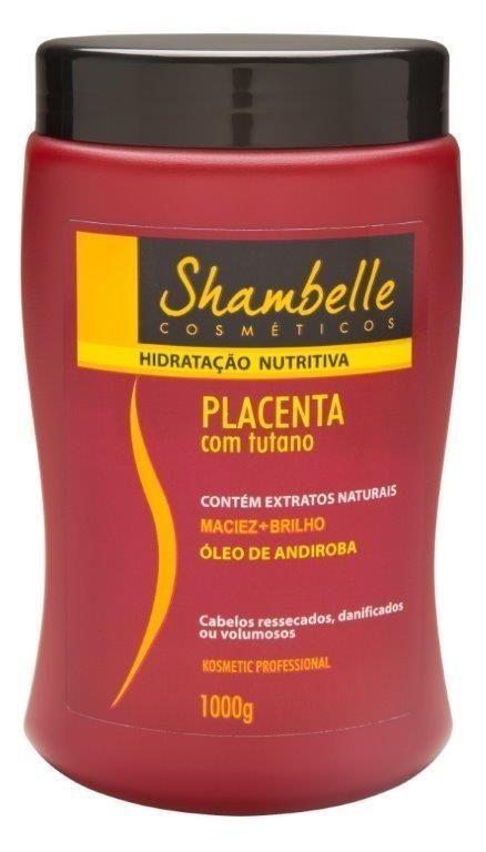 Shambelle Hidratação Nutritiva Placenta com Tutano 1000g