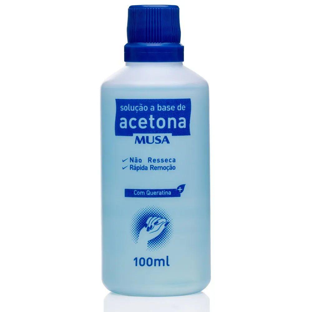 Solução a Base de Acetona e Queratina Musa- 100 ml