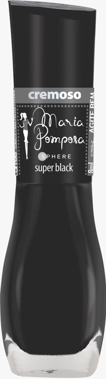 Esmalte Maria Pomposa Super Black