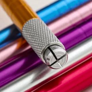Tebori Caneta Clássico em Alumínio Cores Variadas Conforme Estoque
