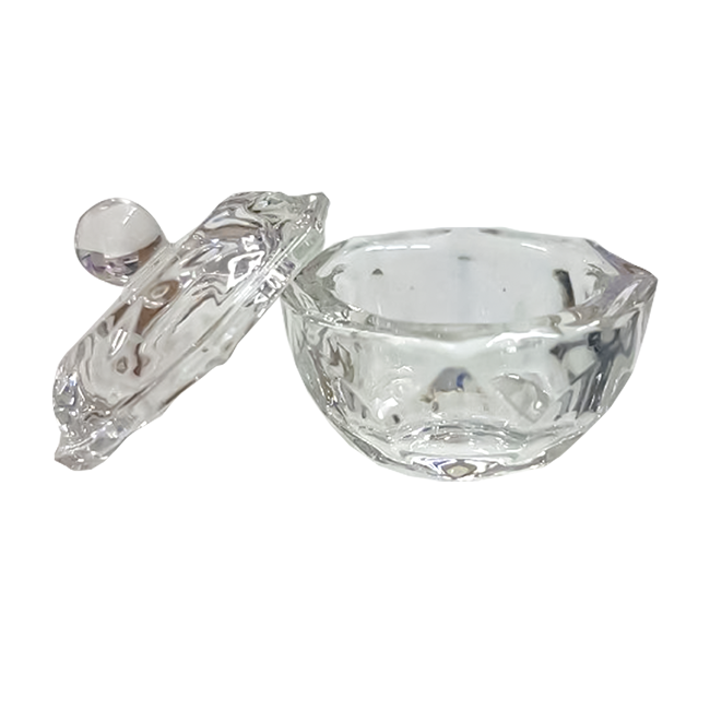 Vidro Dappen Copo Para Mistura Porcelana Henna