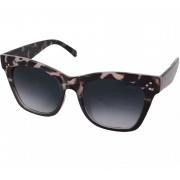 Óculos De Sol Tilit Feminino Acetato Oversize Retrô - Tarta Escuro