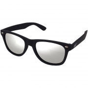 Óculos De Sol Tilit Masculino Acetato Wayfarer - Preto Emborrachado