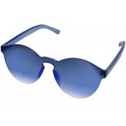 Óculos De Sol Tilit Unisex Acetato Rimless - Azul
