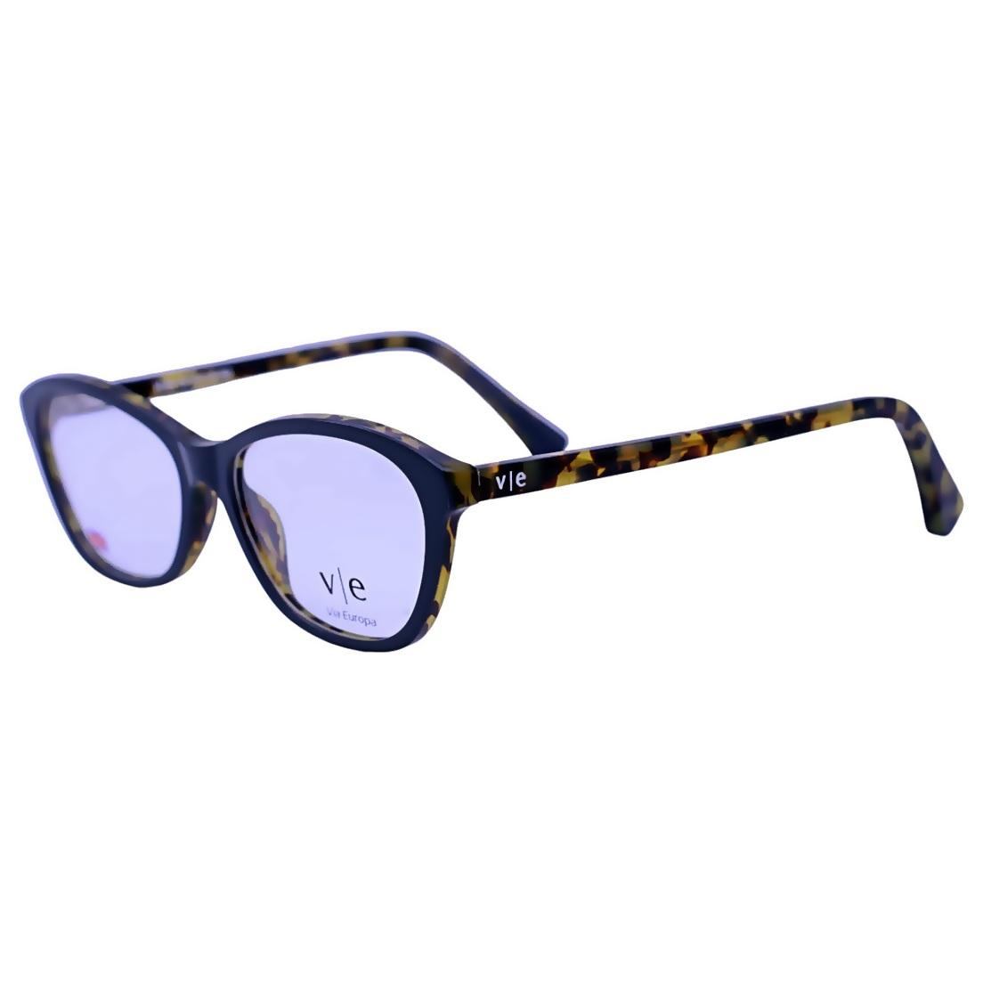 Armação Óculos De Grau Mackage Feminino Gateado Retangular - Preto/Pink