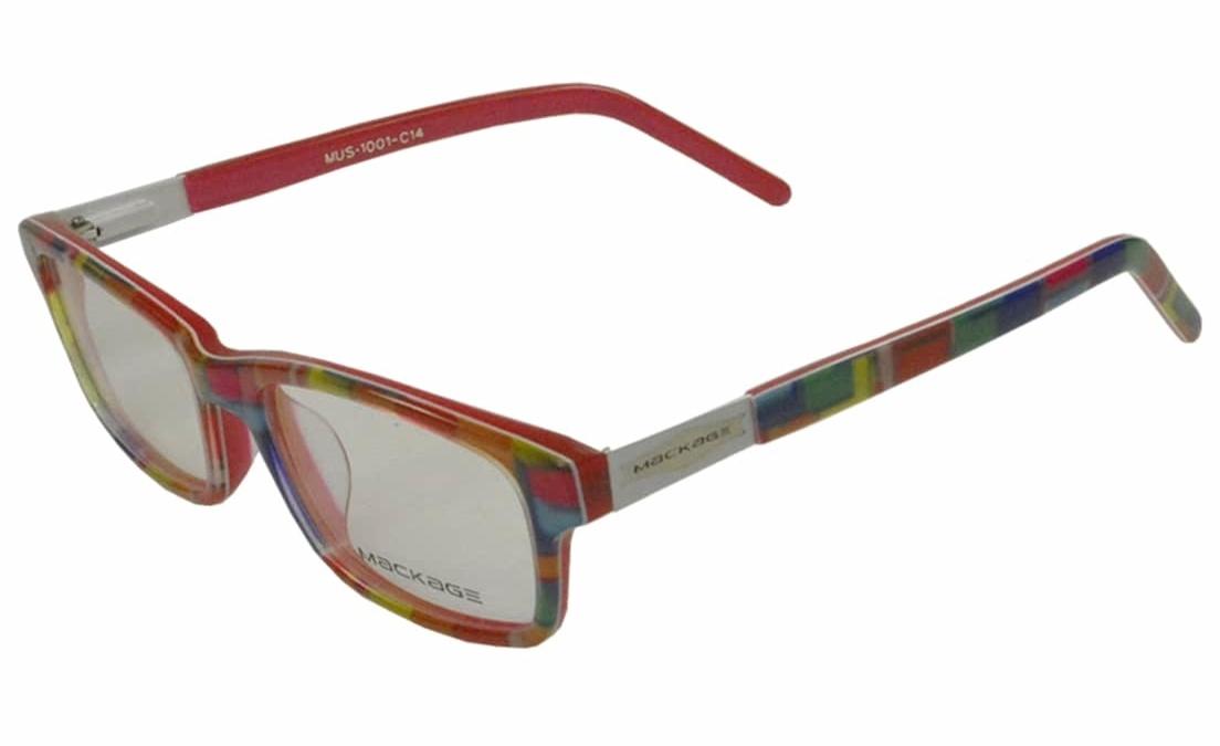 Armação Para Óculos De Grau Infantil Mackage Arco Iris